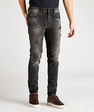 Diesel D-Strukt Slim Fit Distressed Stretch Jeans