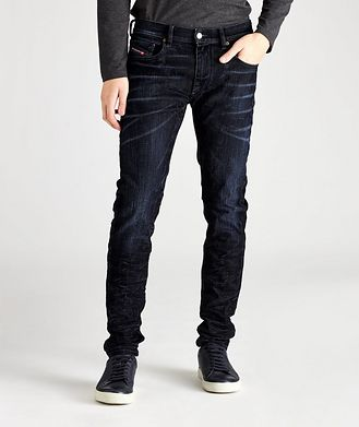 Diesel D-Strukt Slim Fit Velvet Stretch Jeans