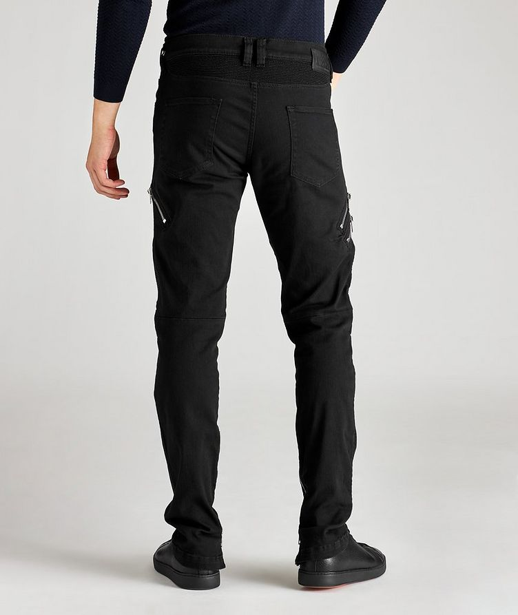D-Dean Slim-Fit Biker Jeans image 1