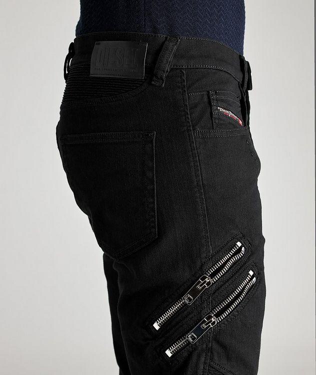 D-Dean Slim-Fit Biker Jeans picture 3
