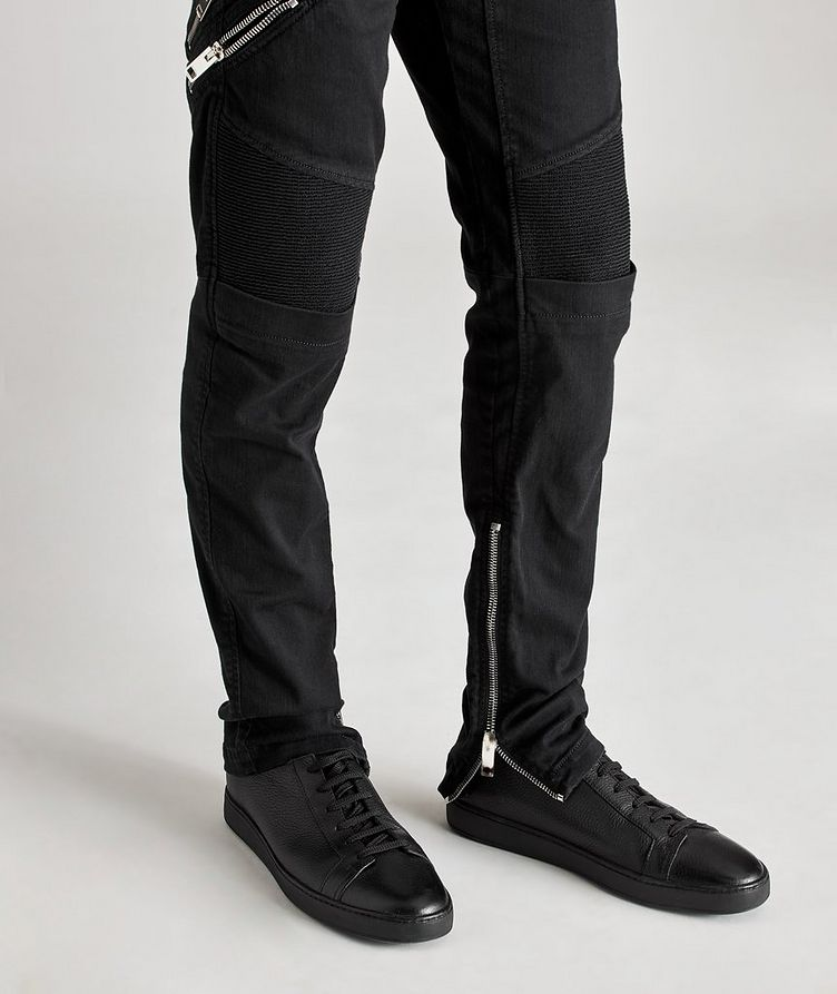 D-Dean Slim-Fit Biker Jeans image 3