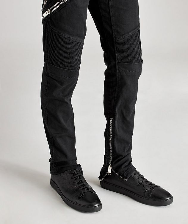 D-Dean Slim-Fit Biker Jeans picture 4