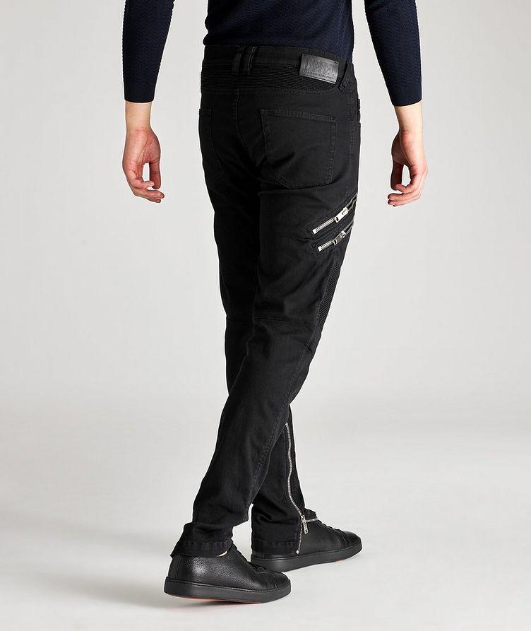 D-Dean Slim-Fit Biker Jeans image 5