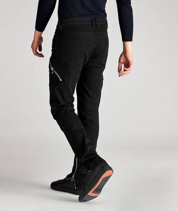 D-Dean Slim-Fit Biker Jeans image 6