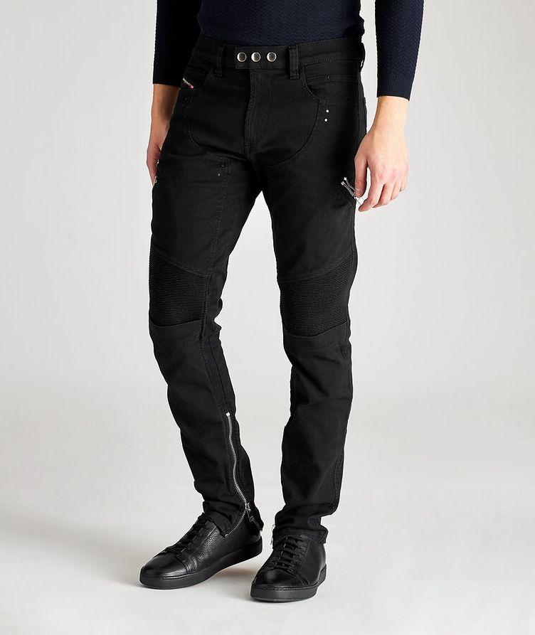 D-Dean Slim-Fit Biker Jeans image 0