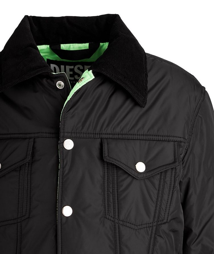W-Jorge Quilted Trucker Jacket image 2