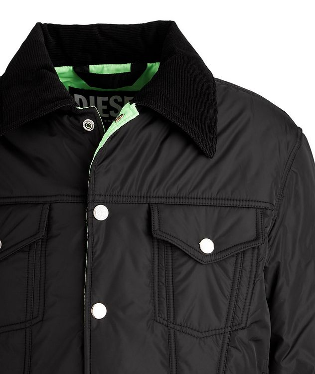 W-Jorge Quilted Trucker Jacket picture 3
