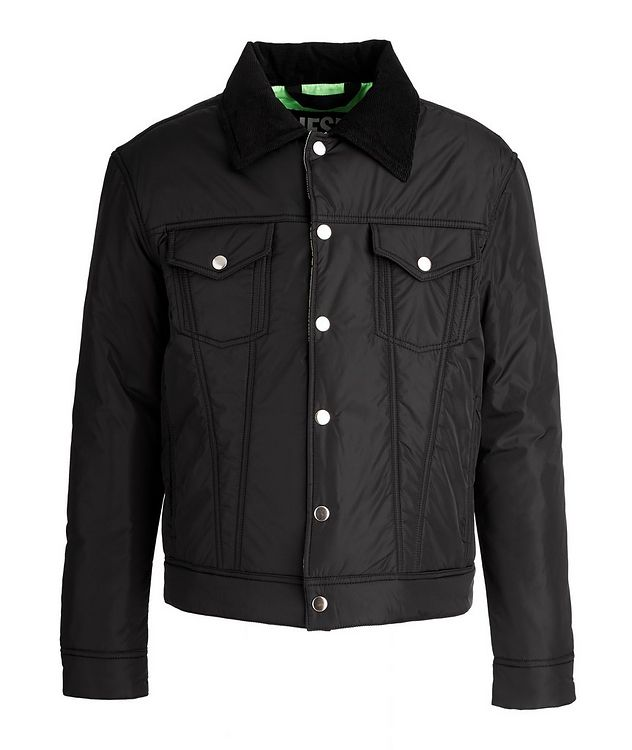 W-Jorge Quilted Trucker Jacket picture 1