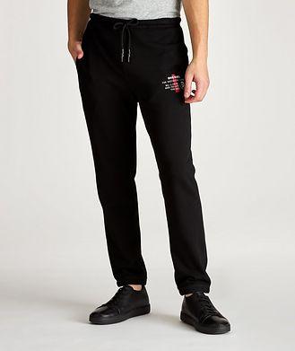 Diesel Pantalon sport Brandon avec logo de coupe ajustée