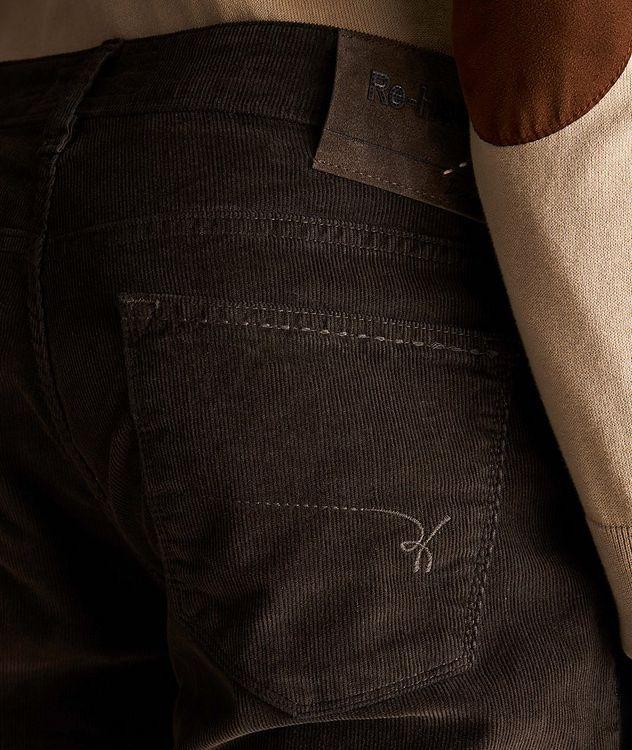 Rubens Corduroy Stretch-Cotton Pants picture 3