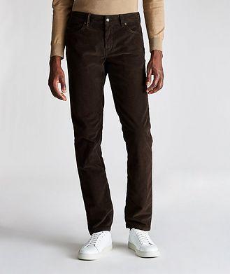 Re-HasH Rubens Corduroy Stretch-Cotton Pants