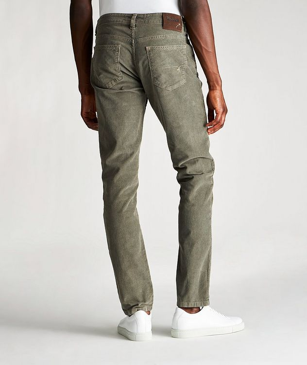 Rubens Corduroy Stretch-Cotton Pants picture 2