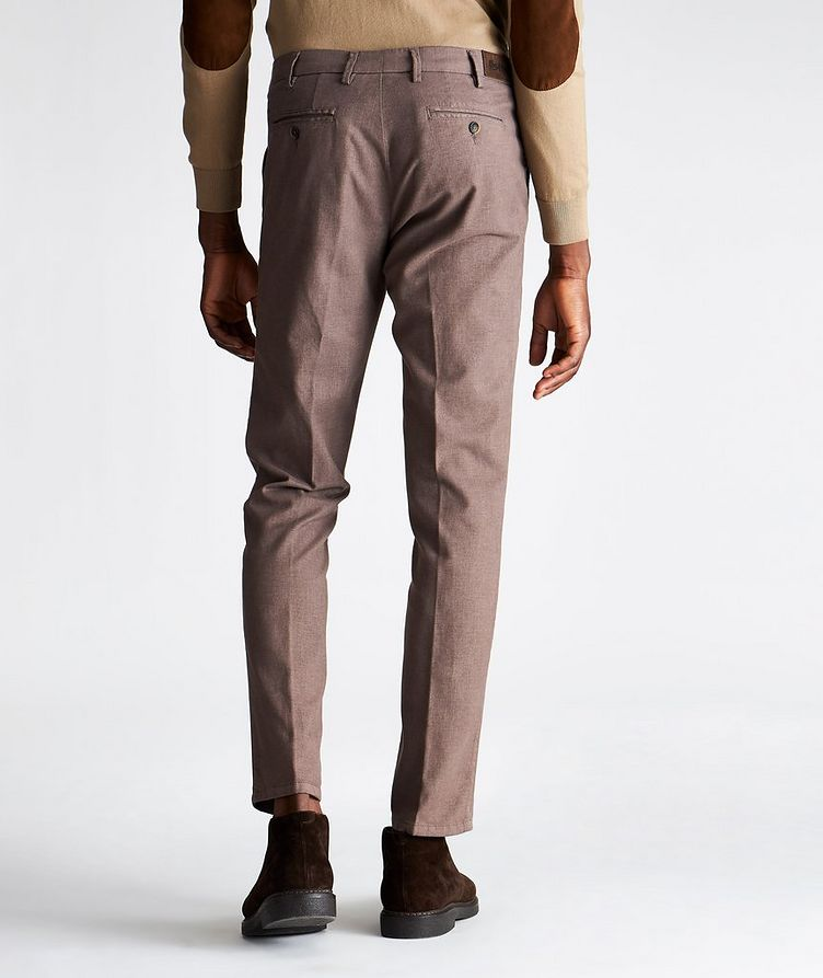 Pantalon Michaelangelo en coton extensible de coupe amincie image 1