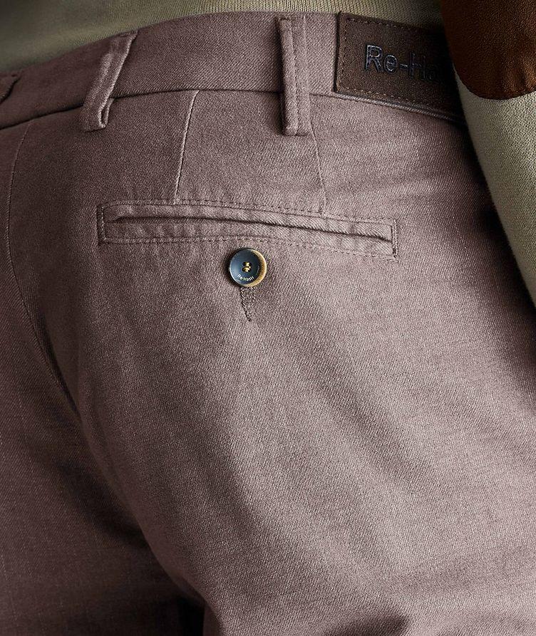 Pantalon Michaelangelo en coton extensible de coupe amincie image 2