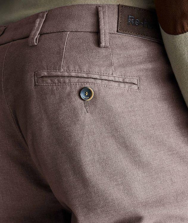 Pantalon Michaelangelo en coton extensible de coupe amincie picture 3