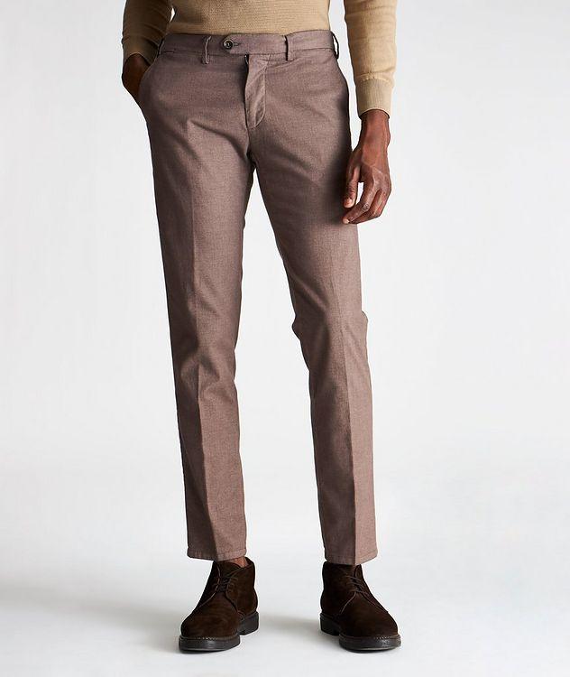 Pantalon Michaelangelo en coton extensible de coupe amincie picture 1