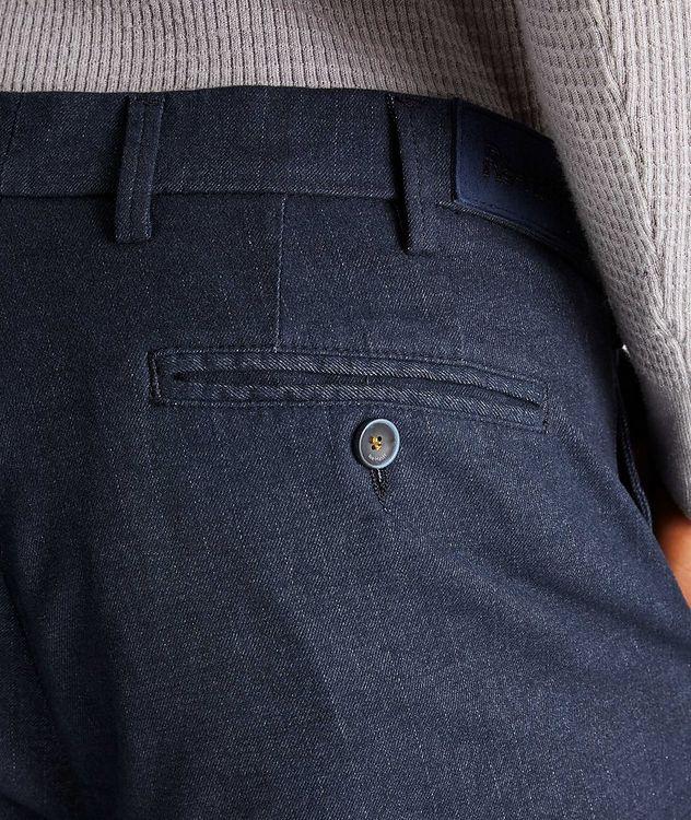 Michaelangelo Slim-Fit Stretch-Cotton Pants picture 3