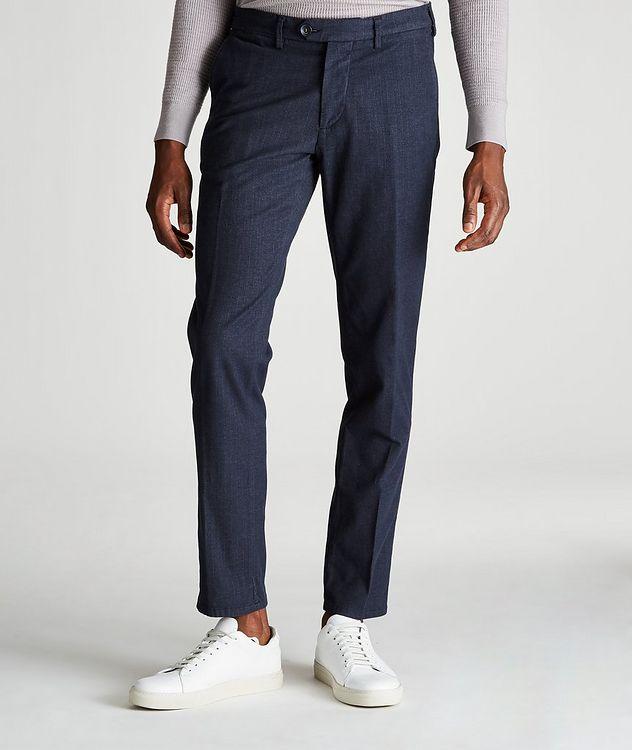 Michaelangelo Slim-Fit Stretch-Cotton Pants picture 1