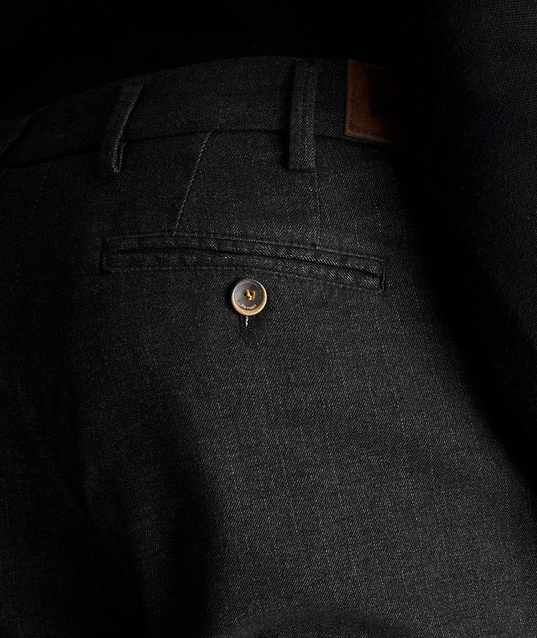 Pantalon Michaelangelo en coton extensible image 2