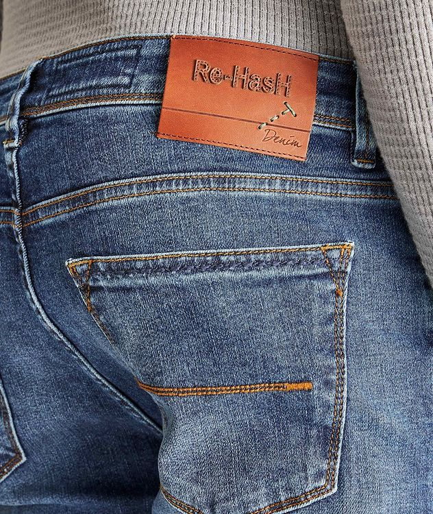 Rubens Slim Fit Stretch Jeans picture 3