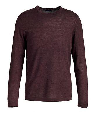 Patrick Assaraf Long-Sleeve Merino Sweater