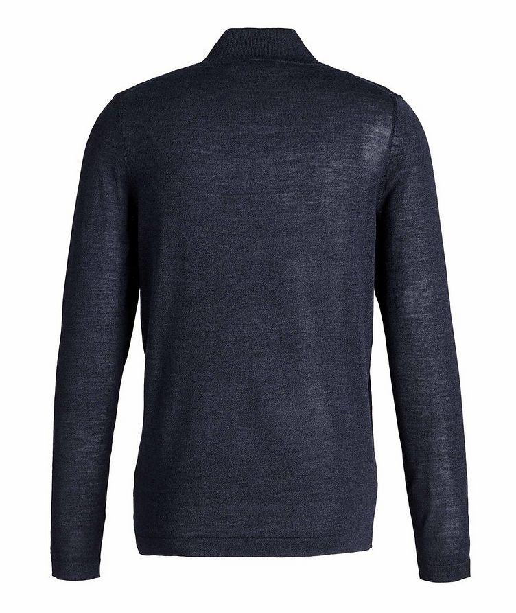 Pull en laine à demi-glissière image 1