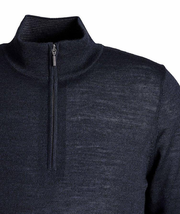 Pull en laine à demi-glissière image 2