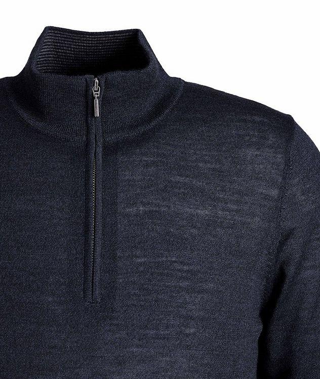 Pull en laine à demi-glissière picture 3
