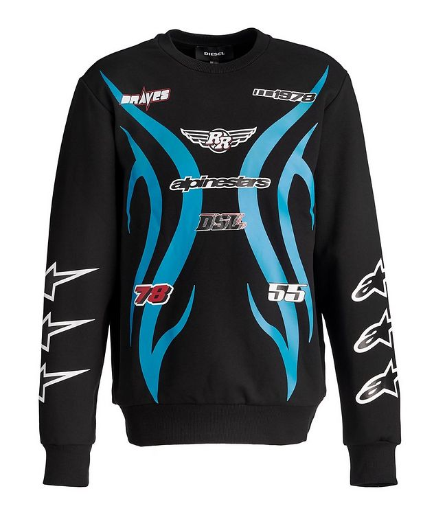 Pull en coton, collection Alpinestars picture 1