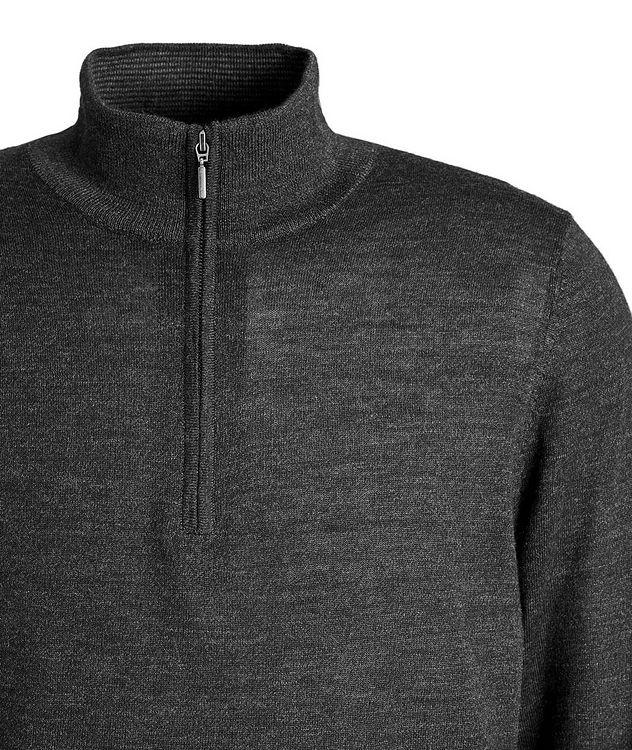 Half-Zip Wool Sweater picture 3