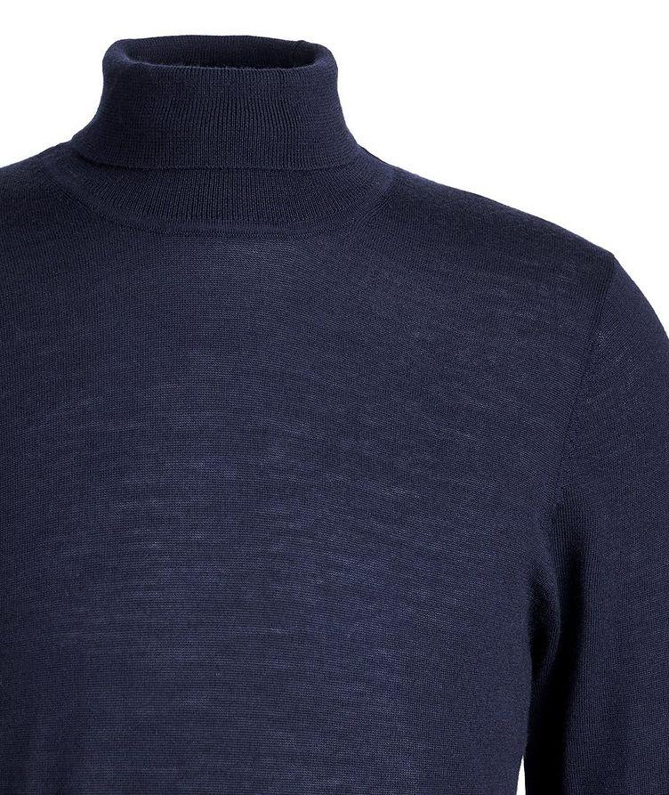 Pull en laine mérinos à col roulé image 2