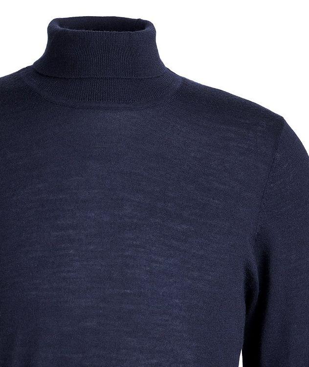 Pull en laine mérinos à col roulé picture 3