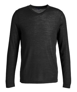 Patrick Assaraf V-Neck Merino Sweater