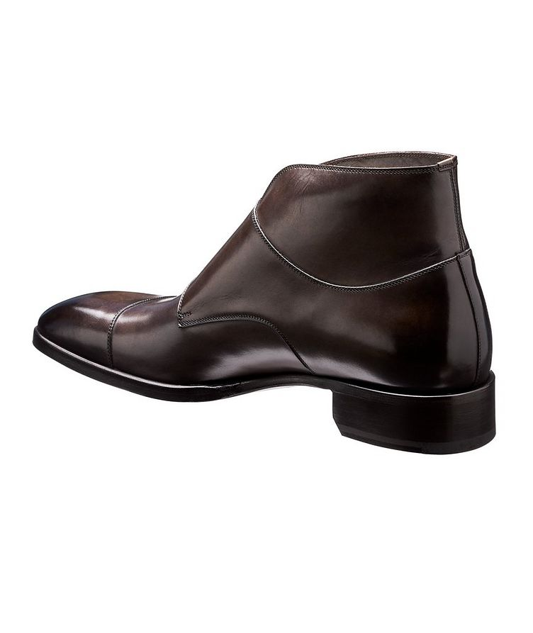 Leather Double-Monk Boots image 1