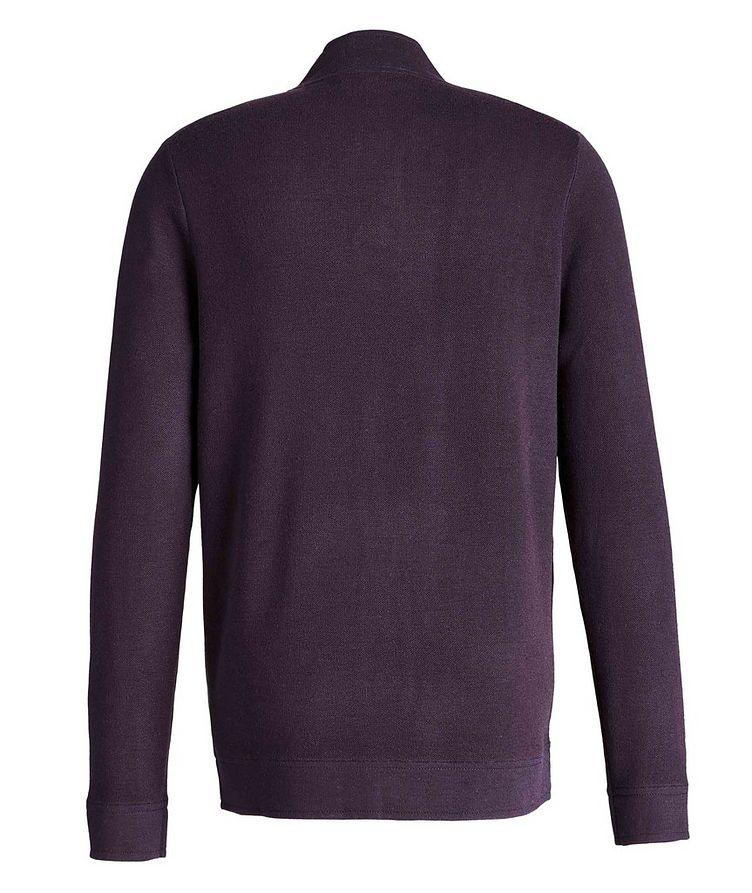 Cardigan en laine mérinos extensible image 1