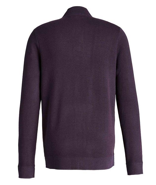 Cardigan en laine mérinos extensible picture 2
