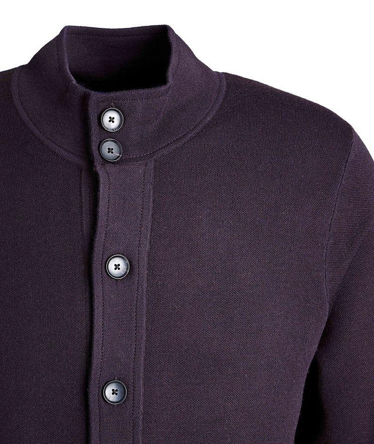 Cardigan en laine mérinos extensible image 2