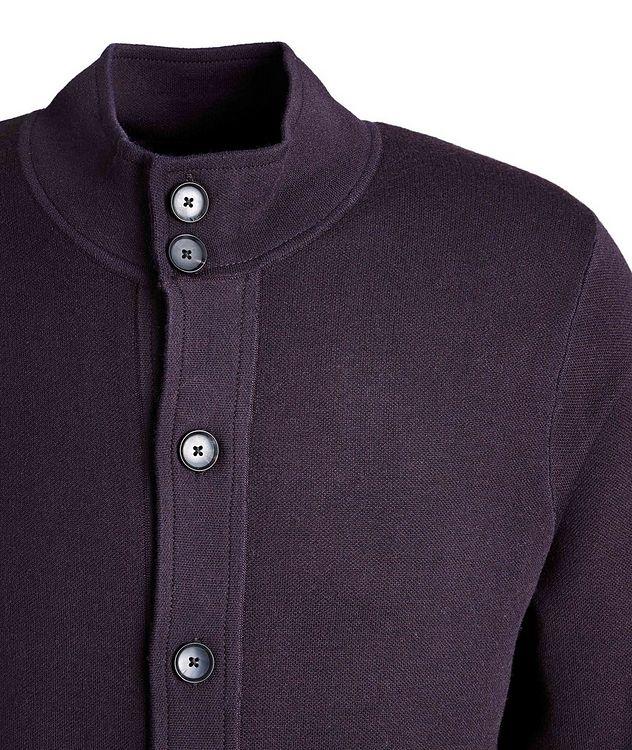 Cardigan en laine mérinos extensible picture 3