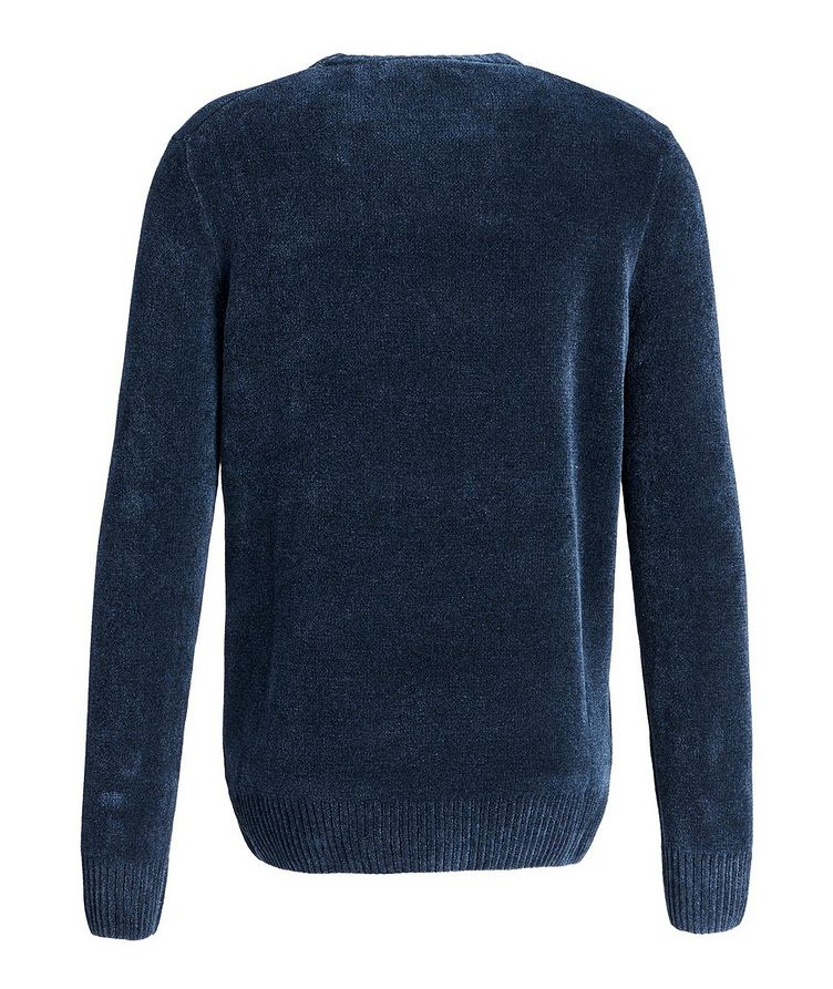 Textured Cotton-Blend Sweater image 1