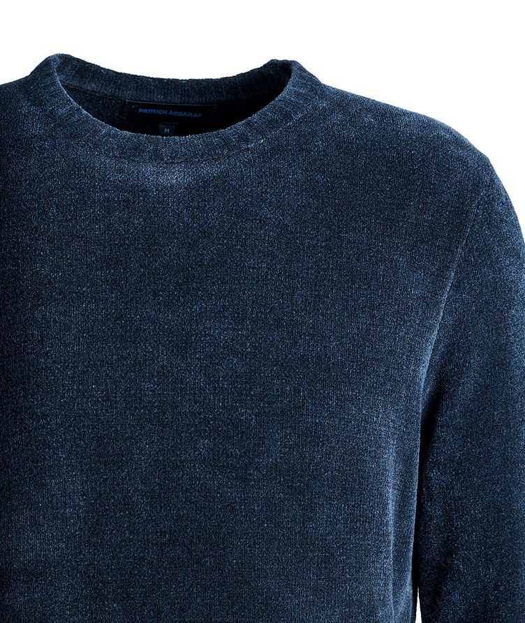 Textured Cotton-Blend Sweater image 2