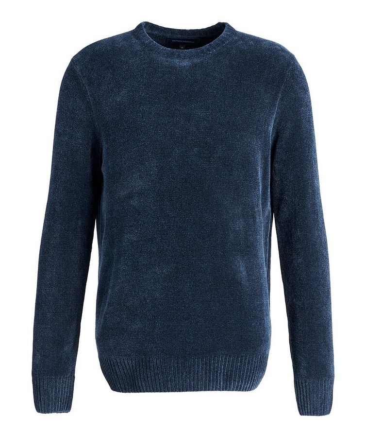 Textured Cotton-Blend Sweater image 0