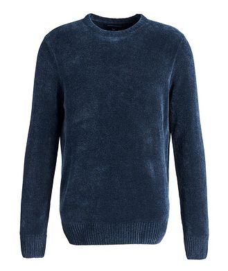 Patrick Assaraf Textured Cotton-Blend Sweater