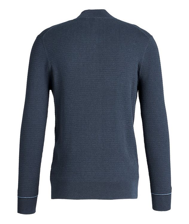 Half-Zip Cotton-Cashmere Sweater picture 2