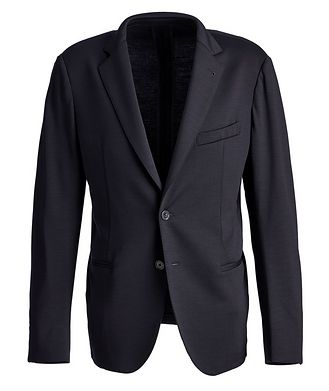 Patrick Assaraf Unstructured Wool Sports Jacket