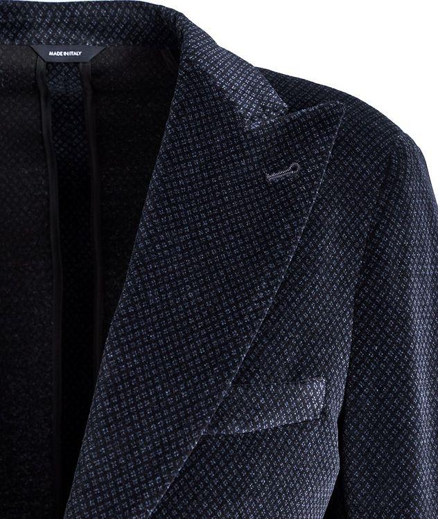 Veston en velours à motif paisley picture 2