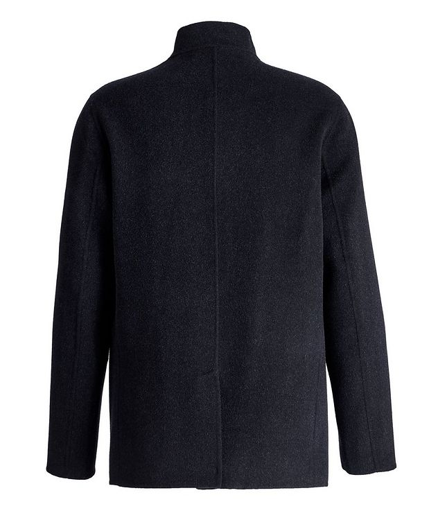 Felted Wool-Cashmere Sweater Jacket picture 2