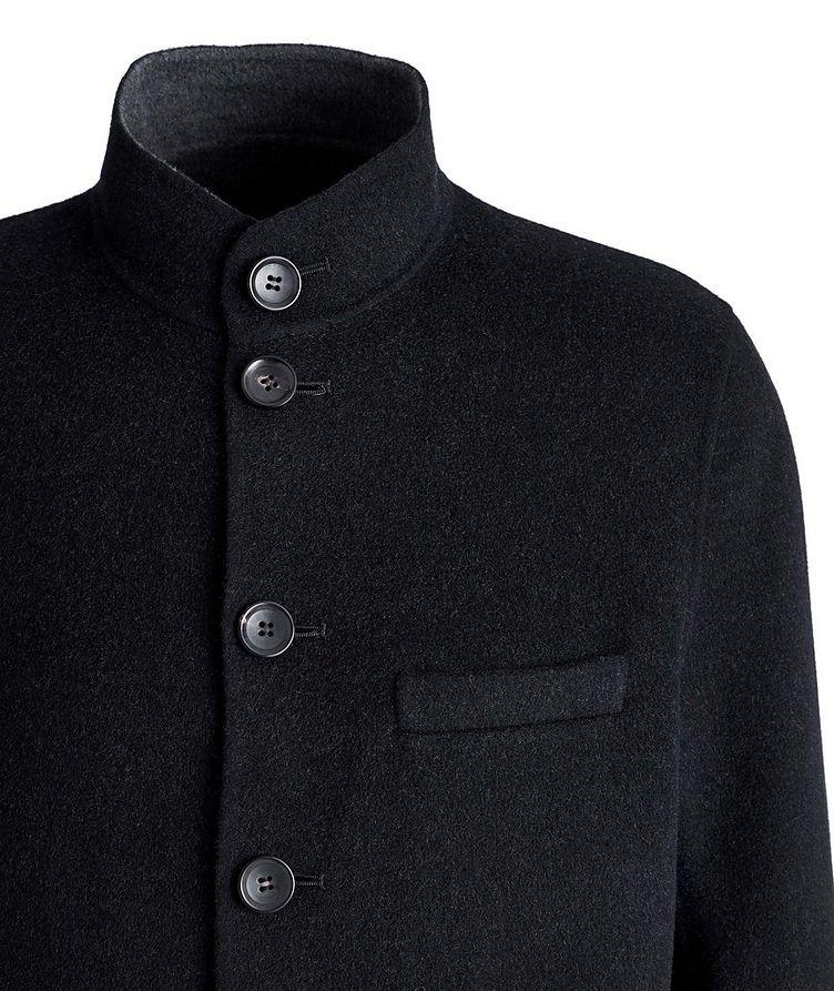 Felted Wool-Cashmere Sweater Jacket image 2