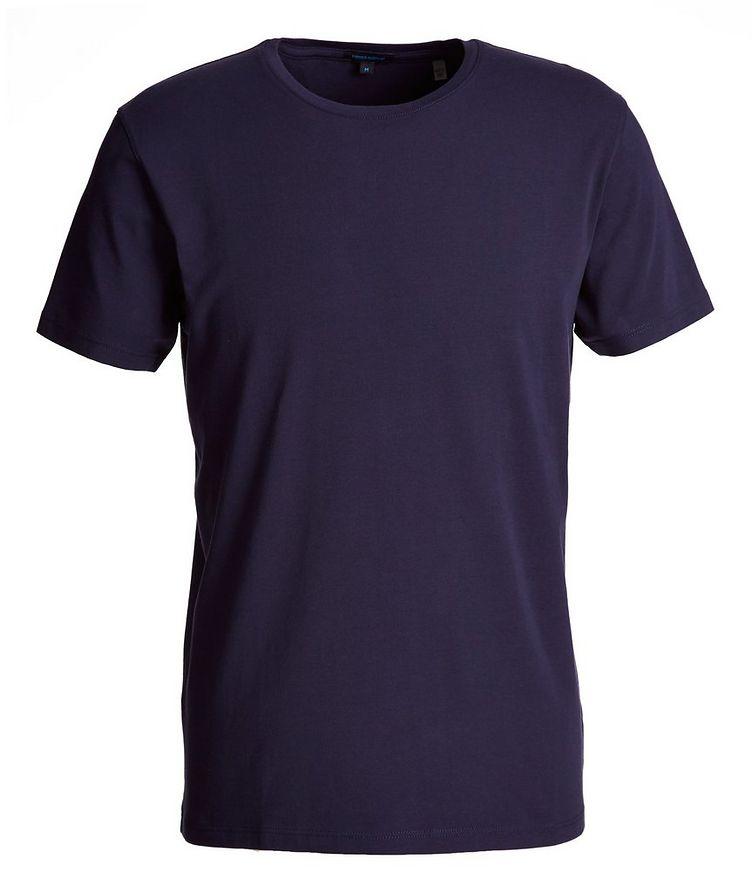 T-shirt en coton extensible image 0