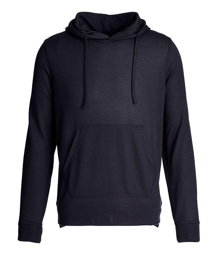 Drawstring Jersey Hoodie image 0