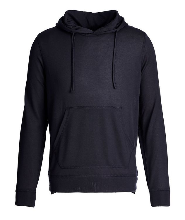 Drawstring Jersey Hoodie picture 1